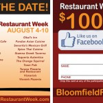 Bloomfield Restaurant Week