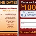 Bloomfield Restaurant Week